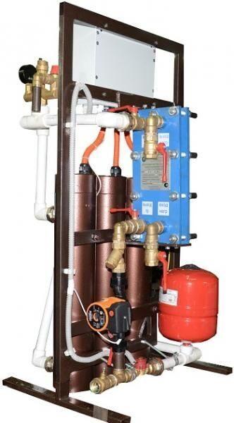 Модуль горячей воды с теплообменником Кожухотрубный испаритель Alfa Laval DH2-191 Бузулук
